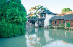 The scenery of Wuzhen Royalty Free Stock Images