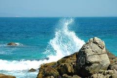 Scenery of wuzhizhou island:surge2. Beautiful scenery in sanya,hainan,China Stock Image