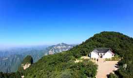 The scenery of Yun-Tai Mountain Royalty Free Stock Photos