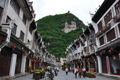 Scenery in the Zhenyuan old town Royalty Free Stock Photography