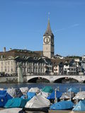 Scenery in Zurich Stock Photography
