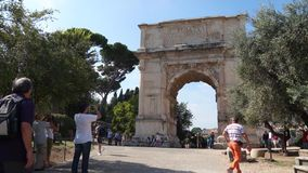 Scenes of the Arch of Titus in Rome (1 of 7)