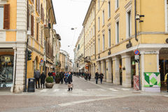 Scenes of  Brescia, Italy Stock Photography