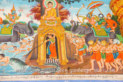 Scenes from Buddha's life Royalty Free Stock Photography