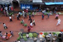 Nepal,Kathmandu center city royalty free stock image
