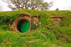 Scenes from Hobbiton in the Hobbit Movie Royalty Free Stock Photos