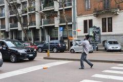 Scenes of Milan, Italy Royalty Free Stock Photos