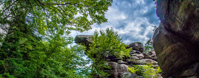 Scenes near chimney rock and lake lure in blue ridge mountains n Stock Photography