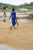 Scenes of rural life in India Stock Image