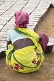 Scenes of rural life in India Stock Image