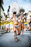 Scenes of Samba Royalty Free Stock Photography