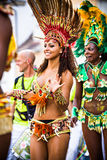 Scenes of Samba Royalty Free Stock Photos