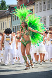 Scenes of Samba Royalty Free Stock Image