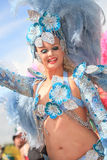 Scenes of Samba Royalty Free Stock Images