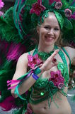 Scenes of samba festival Royalty Free Stock Photo