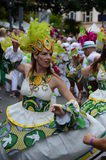 Scenes of samba festival Stock Images