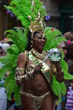 Scenes of samba festival Royalty Free Stock Image