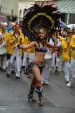 Scenes of samba festival Royalty Free Stock Photos