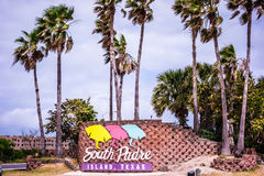 Scenes on south padre island texas royalty free stock images