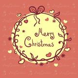 Scenetta di Natale Fotografia Stock