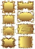 Scenette d'annata. (Vettore) Royalty Illustrazione gratis