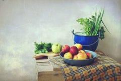 Sceney фруктов и овощей Стоковая Фотография RF