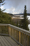 Scenic Alaskan Deck Royalty Free Stock Images