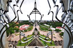 Scenic arch symbol. Of Vientiane, Laos Royalty Free Stock Photography