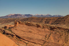Scenic Arches National Park Stock Image