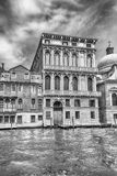 Scenic architecture along the Grand Canal in Venice, Italy Royalty Free Stock Photo