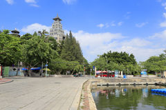 Scenic area of jimei town Stock Photos