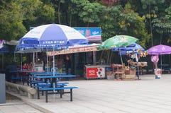 Scenic area shops Stock Image