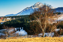 Scenic areas around Zakopane, Poland Royalty Free Stock Photo