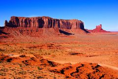 Scenic Arizona desert stock image