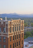 Scenic Asheville Downtown View Royalty Free Stock Images