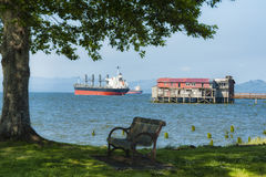 Scenic Astoria Waterfront Royalty Free Stock Photo
