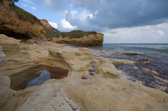 Scenic Atlantic landscape Stock Image