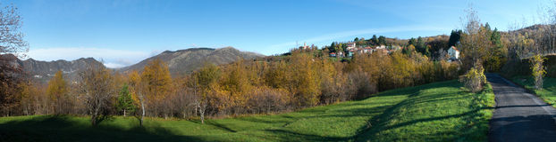 Scenic autumn Royalty Free Stock Image