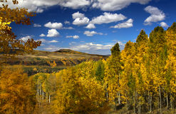 Scenic autumn landscape Royalty Free Stock Images