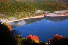 Free Scenic Autumn Landscape In Pennsylvania Royalty Free Stock Photography - 11107127