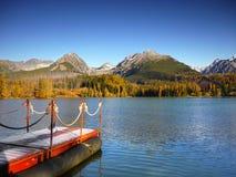 Scenic Autumn Mountain Lake Stock Images