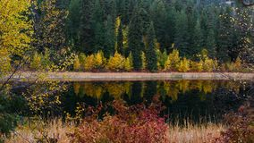 Scenic Autumn Reflection Royalty Free Stock Images