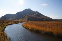 Scenic autumn view. Vibrant colour scenic autumn view Stock Image