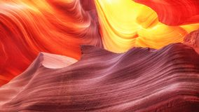 Scenic background view at Canyon Antelope near Page, Arizona USA stock photo