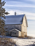 Scenic barn landscape royalty free stock photo
