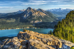 Scenic Barrier Lake Stock Photography