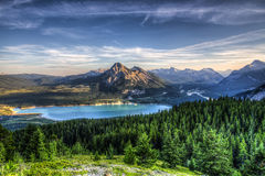 Scenic Barrier Lake Royalty Free Stock Photos