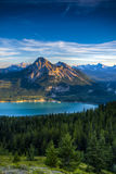 Scenic Barrier Lake Royalty Free Stock Images