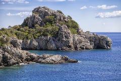 Scenic bay near Marmaris, Turkey Royalty Free Stock Photography