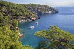 Scenic bay near Marmaris, Turkey Stock Image